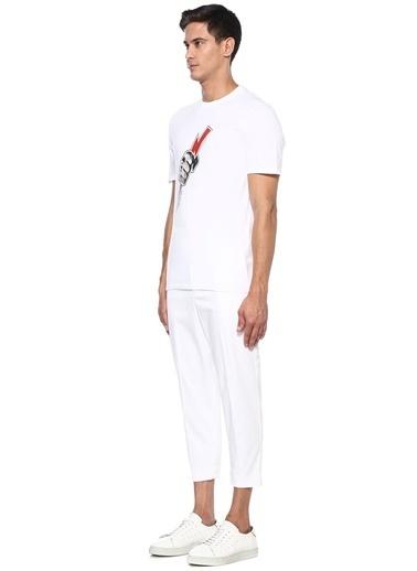 Neil Barrett Tişört Beyaz
